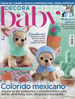 Capa Revista Decora Baby