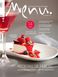 Capa Revista Menu